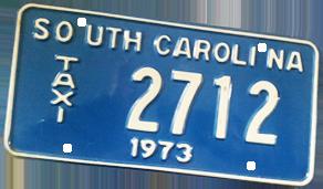 Panneau South Carolina